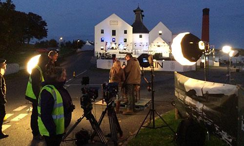 Shooting Tales of Whisky at Lagavulin